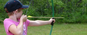Archery is a favorite activity